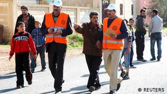 پایان کار ناظران اتحادیه عرب