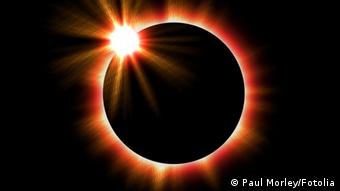 Sun eclipsed by the moon