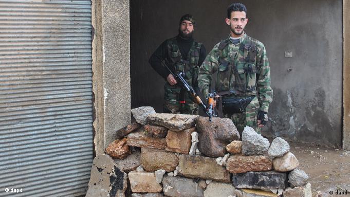 سربازانی که به ارتش آزاد سوریه پیوستهاند
