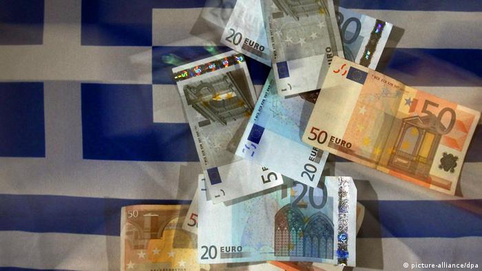 Symbolbild Griechenland Athen Schuldenkrise Euro