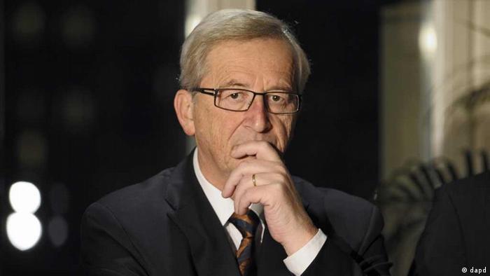 Der Premierminister von Luxemburg: Jean-Claude Juncker