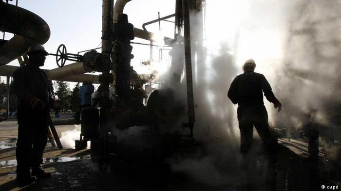 Iranische Raffinerie (Foto: dapd)