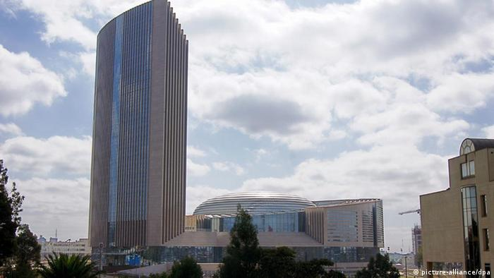 The towering new headquarters of the AU in Addis Ababa (Photo: Carola Frentzen dpa)