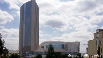 Das neu erbaute Hauptquartier der Afrikanischen Union (AU) in Addis Abeba (Foto: dpa)