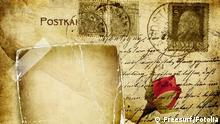 Symbolbild Alter Liebesbrief neu