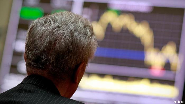 Spanien Wirtschaft Börse in Madrid