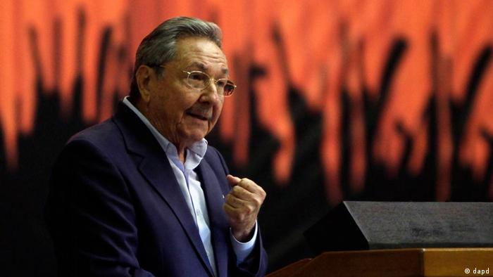 Cuba's President Raul Castro Copyright: Ismael Francisco/ Prensa Latina/AP Photo/