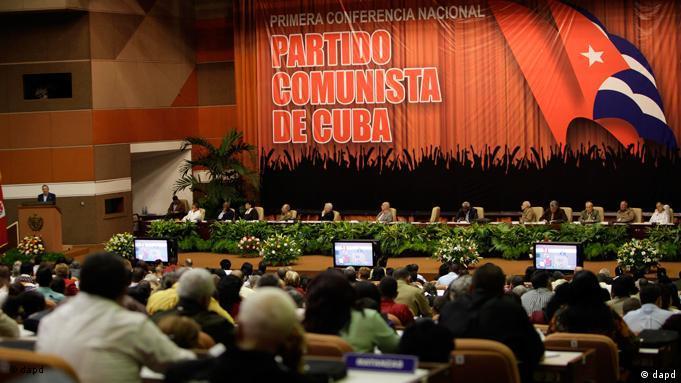 Ceremonia de clausura de la Primera Conferencia del PCC: la idea de un partido único como fuerza dirigente superior de la sociedad es un concepto al que jamás renunciaremos.