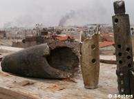 حملات موشکی ارتش سوریه به مناطق مسکونی در نزدیکی دمشق