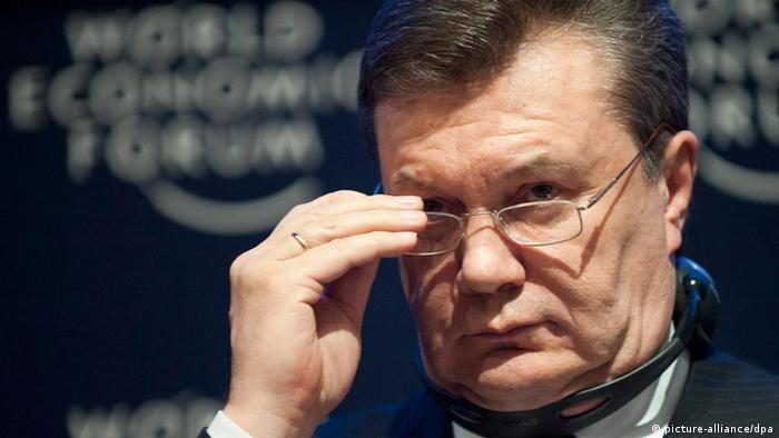 Віктор Янукович у Давосі