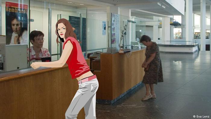 Ana u Muzeju pronalazi skrovište od progonitelja