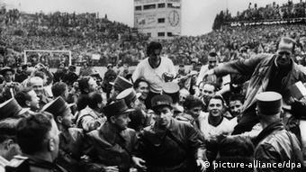 Deutsche Sportgeschichte Fußball WM 1954 Wunder von Bern