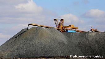 Chinese rare earth mine