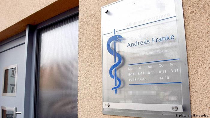 Dr Franke's practice in Erfurt