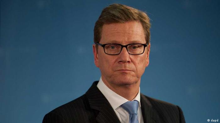 German Foreign Ministe Guido Westerwelle