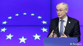 Herman van Rompuy / EU / EU-Ratspräsident / Europäische Union
