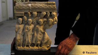 یک اثر ارزشمند باستانی که از آلمان به افغانستان بازگردانده شد.