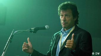 Pakistani politician Imran Khan (Photo: DW-Hindi-Korrespondenten Prabhakar Mani Tewari in Kolkata)