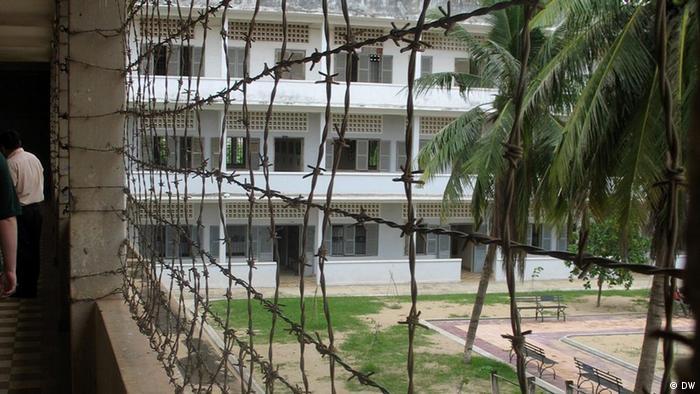 Das frühere Foltergefängnis Tuol Sleng in Phnom Penh ist heute Museum und Gedenkstätte (Foto: DW)