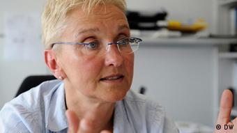 Professorin Heike Walles vom Fraunhofer-Institut für Grenzflächen- und Verfahrenstechnik IGB - aufgenommen im Juli 2011 - Fotografin: Lydia Heller, DW