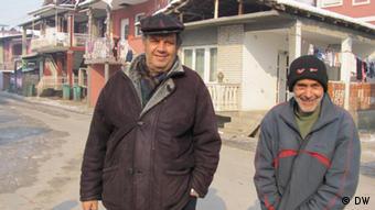 Banorë të Podvorçës - lagje rome në Leskovc