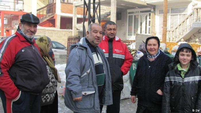 Pamje nga një lagje rome në Leskovc
