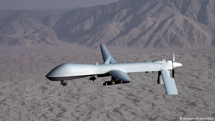 MQ-1 Predator drone in flight