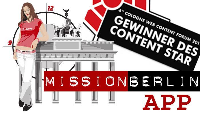 DW Sprachkurse Mission Berlin App Galeriebild