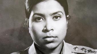 Dr Sitara Rahman, 1971 während der Freiheitskämpfe in Bangladesch Datum: Juli 1971 Eigentumsrecht: Dr Sitara Rahman, Dhaka, Bangladesch