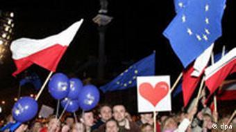 EU-Erweiterung, Feier zum Beitritt von Polen