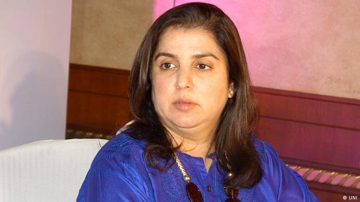 Farah Khan Bollywood Schauspielerin Indien (UNI)