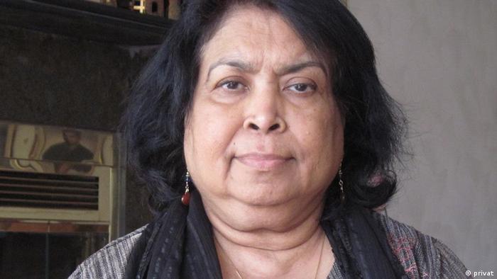 Dr Sitara Rahman, Bir Protik und Freiheitskämpferin aus Bangladesch Datum: 25.07.2009 Eigentumsrecht: Dr Sitara Rahman, Dhaka, Bangladesch