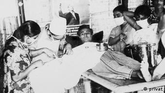 Dr Sitara Rahman, Bir Protik und Freiheitskämpferin aus Bangladesch Datum: August 1971 Eigentumsrecht: Dr Sitara Rahman, Dhaka, Bangladesch