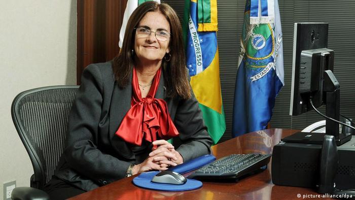 Brasilien Ölkonzern Petrobras Maria das Gracas Foster