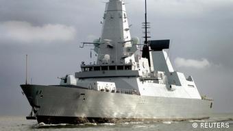 HMS Dauntless Zerstörer Großbritannien