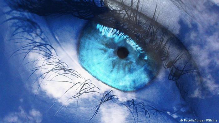Augen blaue grüne oder Das sind