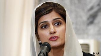 Pakistan Foreign Minister Hina Rabbani Khar in Kabul
