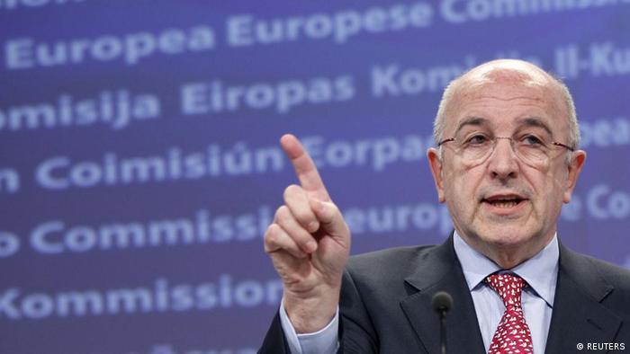 EU-Wettbewerbskommissar Joaquín Almunia (Foto: REUTERS/Francois Lenoir)