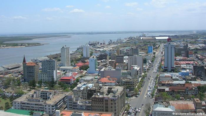 Maputo - Panorama da capital de Moçambique
