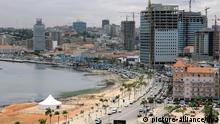 Luanda Angola Hauptstadt Panorama Stadt Stadtansicht