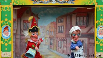 a punch and judy show