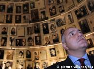 Bulgarian Prime Minister Boyko Borissov on a visit to Yad Vashem
