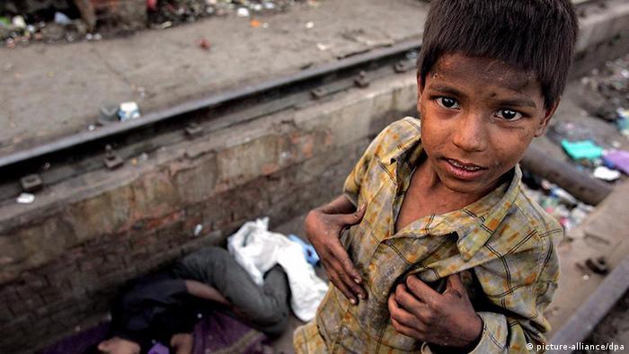 Indien Straßenkinder