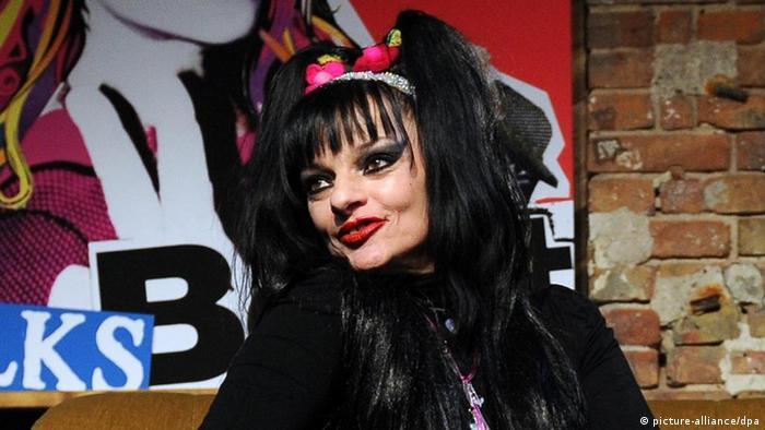 Немецкая королева панк-рока Нина Хаген