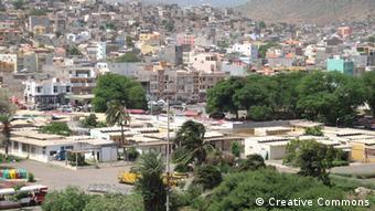 Kap Verde Praia Hauptstadt Panorama Stadtansicht