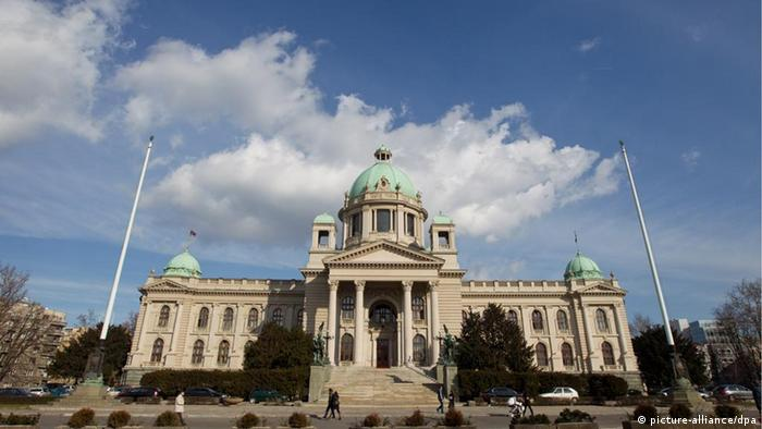 Serbien Belgrad Parlament (picture-alliance/dpa)
