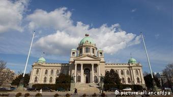 Serbien Belgrad Parlament