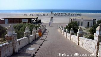 Strand in Praia, Kap Verde
