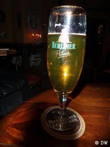 A glass of Berliner Pils