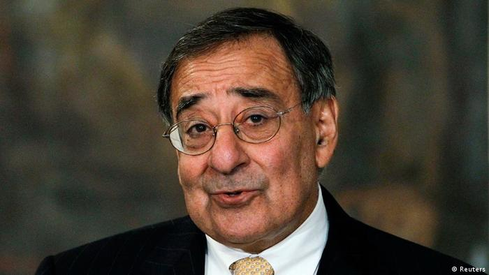 U.S. Secretary of Defense Leon Panetta speaks during a joint news conference with Afghanistan's President Hamid Karzai (unseen) in Kabul, in this file photo taken December 14, 2011. The United States intends to end combat operations in Afghanistan before the end of 2013, Panetta said on February 1, 2012, laying down a new marker for winding down America's longest war. REUTERS/Omar Sobhani/Files (AFGHANISTAN - Tags: POLITICS MILITARY)